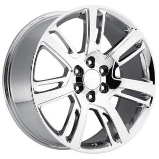 FACTORY REPRODUCTIONS WHEELS  CADILLAC ESCALADE 2015 STYLE 48 PVD CHROME RIM