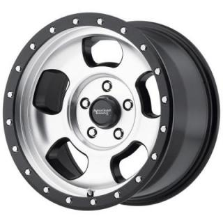 AMERICAN RACING WHEELS  AR969 ANSEN OFFROAD SATIN BLACK RIM with MACHINED FACE