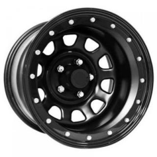 STEEL SERIES 252 FLAT BLACK RIM - Cap Not Included by PRO COMP ALLOYS WHEELS