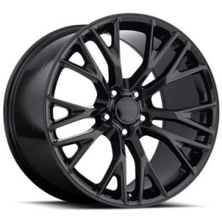 FACTORY REPRODUCTIONS WHEELS  CORVETTE C7 Z06 2015 STYLE 22 GLOSS BLACK RIM