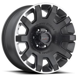 BULLET PROOF 505 SATIN BLACK RIM with DIAMOND CUT ACCENTS by WALKER EVANS