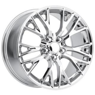 FACTORY REPRODUCTIONS WHEELS  CORVETTE C7 Z06 2015 STYLE 22 CHROME RIM