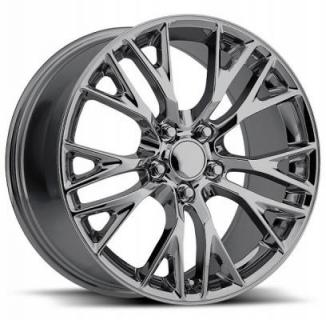 CORVETTE C7 Z06 2015 STYLE 22 PVD BLACK CHROME RIM from FACTORY REPRODUCTIONS WHEELS
