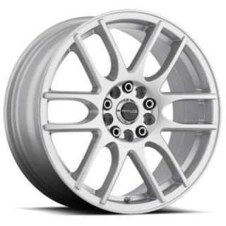 RACELINE WHEELS   141S MYSTIQUE GLOSS SILVER RIM