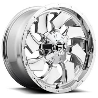 CLEAVER D573 CHROME RIM by FUEL OFFROAD WHEELS