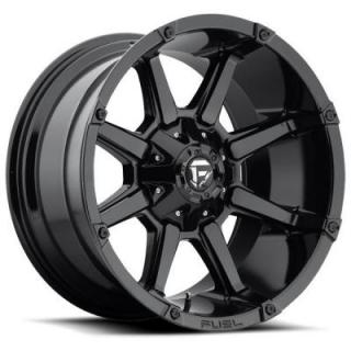 FUEL OFFROAD WHEELS  COUPLER D575 GLOSS BLACK RIM