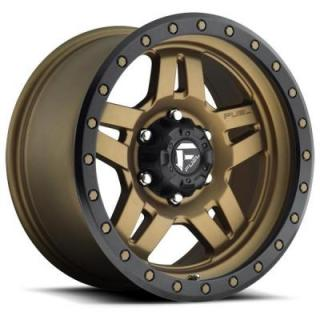 FUEL OFFROAD WHEELS  ANZA D583 BRONZE RIM with BLACK RING