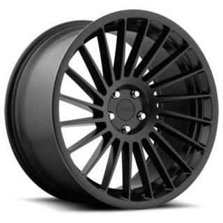 ROTIFORM CAST COLLECTION  IND-T R127 MATTE BLACK RIM