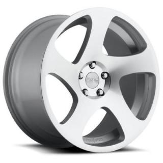 ROTIFORM CAST COLLECTION  TMB R130 SILVER MACHINED RIM