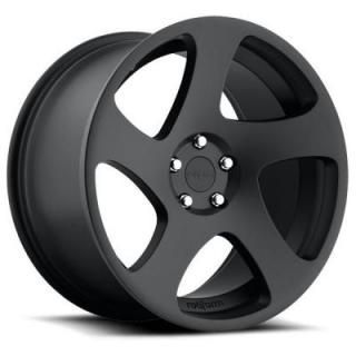 ROTIFORM CAST COLLECTION  TMB R132 MATTE BLACK RIM