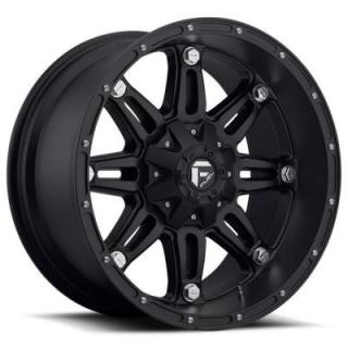 FUEL OFFROAD WHEELS  HOSTAGE D531 MATTE BLACK RIM