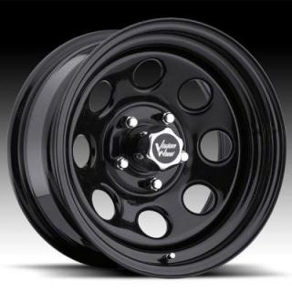 SPECIAL BUY WHEELS  VISION SOFT-8 85 RWD BLACK RIM cap is additional $15 each PPT DISPLAY SET 1 SET ONLY