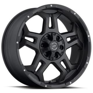 SENDEL WHEELS   SENDEL S37 STEALTH MATTE BLACK RIM