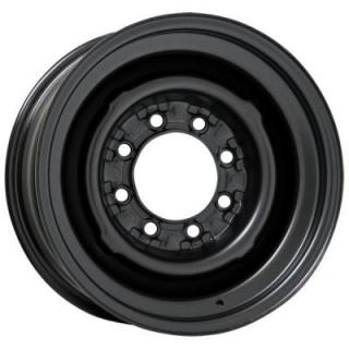 WHEEL VINTIQUES  82 SERIES O.E. 8 LUG SATIN BLACK - Cap Not Included