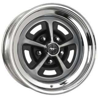 WHEEL VINTIQUES  86 SERIES BOSS 302 1970 CHROME OUTER RIM - Cap Not Included