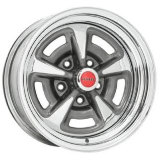 WHEEL VINTIQUES  60 SERIES PONTIAC RALLYE II STYLE CHROME - Cap Not Included