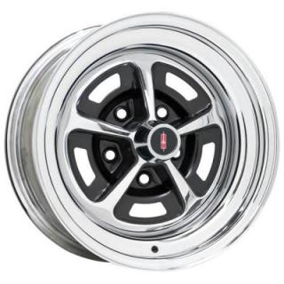 WHEEL VINTIQUES  52 SERIES OLDS SS1 STYLE CHROME - Cap Not Included