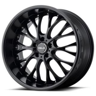 HELO WHEELS  HE890 SATIN BLACK RIM