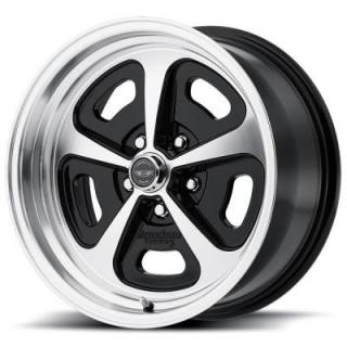 VN501 GLOSS BLACK MACHINED RIM from AMERICAN RACING WHEELS