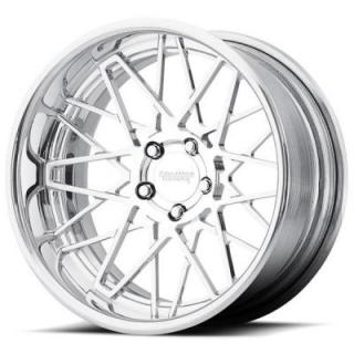 AMERICAN RACING WHEELS  VF502 CROSS UP FORGED POLISHED RIM