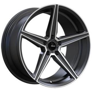 CO CAMMINO MATTE GUNMETAL RIM with MACHINED FACE from ADVANTI WHEELS