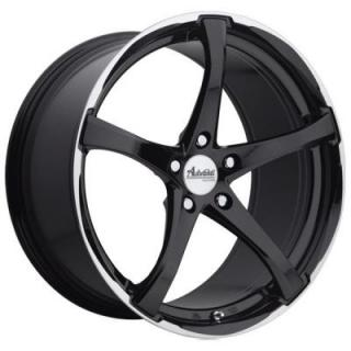 B2 DENARO GLOSS BLACK/MACHINED RIM from ADVANTI WHEELS