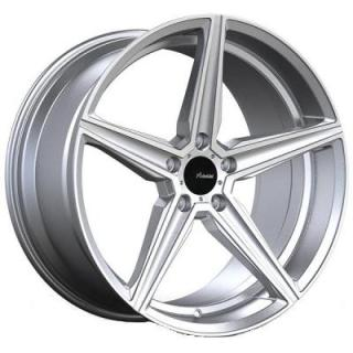 CO CAMMINO SILVER RIM with MACHINED FACE from ADVANTI WHEELS