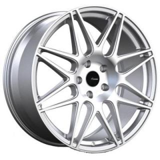 CL CLASSE SILVER RIM with MACHINED FACE from ADVANTI WHEELS
