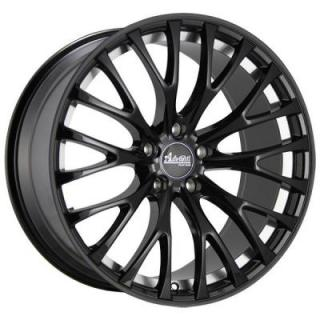 FS FASTOSO MATTE BLACK RIM with MACHINED UNDERCUT from ADVANTI WHEELS