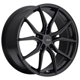 HY HYBRIS GLOSS BLACK RIM from ADVANTI WHEELS