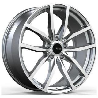 RA RASATO MATTE GUNMETAL RIM with MACHINED FACE from ADVANTI WHEELS