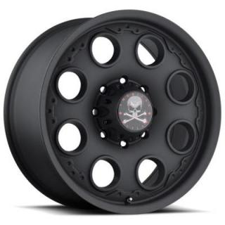 PATROL MATTE BLACK RIM by AMERICAN OUTLAW WHEELS