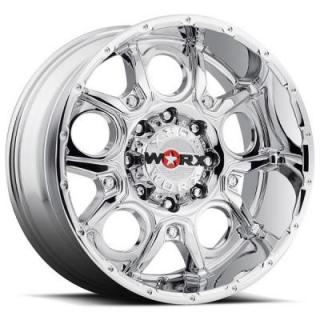 809 REBEL CHROME RIM 8 LUG by WORX WHEELS