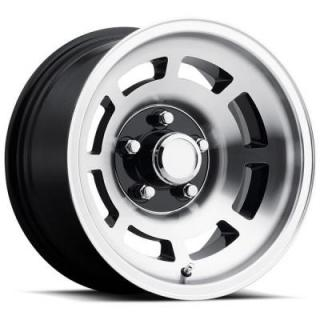 FACTORY REPRODUCTIONS WHEELS  CORVETTE YJ8 76-79 STYLE 23 BLACK MACHINED RIM
