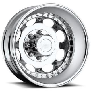 VISION WHEELS   HAULER 181 DUALLY CHROME REAR RIM
