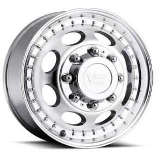 VISION WHEELS   HAULER 181 DUALLY MACHINED FRONT RIM