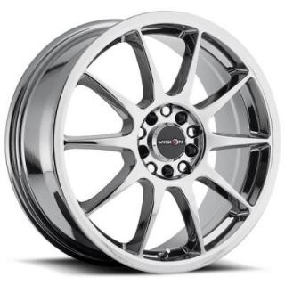 VISION WHEELS   BANE 425 FWD PHANTOM CHROME RIM