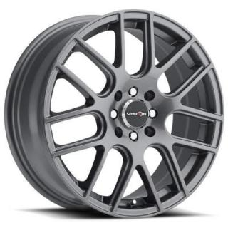 CROSS 426 FWD GUNMETAL RIM from VISION WHEELS