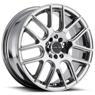 VISION WHEELS   CROSS 426 FWD PHANTOM CHROME RIM