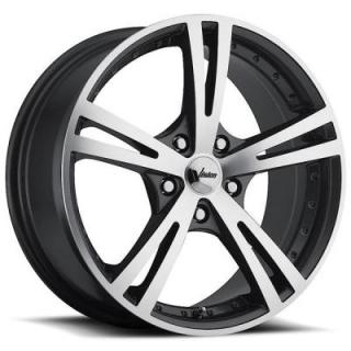 VISION WHEELS   XCITE 463 FWD GUNMETAL RIM with MACHINED FACE
