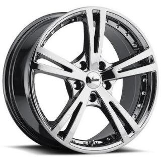 VISION WHEELS   XCITE 463 FWD PHANTOM CHROME RIM