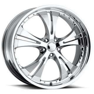 VISION WHEELS   SHOCKWAVE 539 FWD CHROME RIM