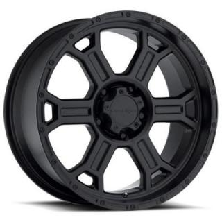 VISION WHEELS   RAPTOR 372 RWD OFF-ROAD MATTE BLACK RIM