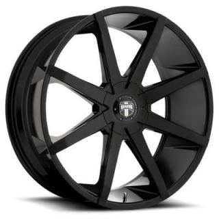 PUSH S110 GLOSS BLACK RIM by DUB WHEELS