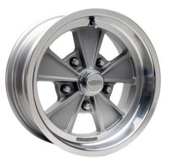 CRAGAR 500G ELIMINATOR GRAY RIM with MACHINED LIP from SPECIAL BUY WHEELS
