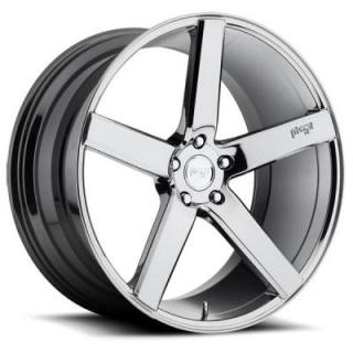 NICHE WHEELS  MILAN M132 CHROME RIM
