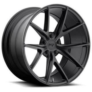 NICHE WHEELS  MISANO M117 SATIN BLACK RIM