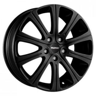 SPECIAL BUY WHEELS  MOMO WIN 2 MATTE BLACK RIM PPT DISPLAY SET 1 SET ONLY