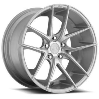 NICHE WHEELS  TARGA M131 SILVER MACHINED RIM