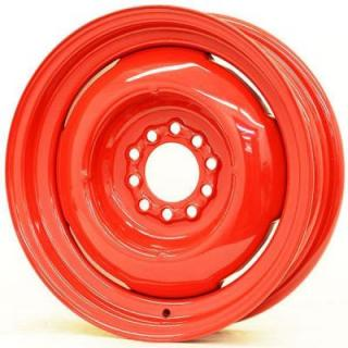 SPECIAL BUY WHEELS  HOTRODHANKS STEEL GENNIE BARON RED - Cap Not Included